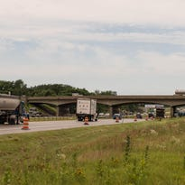 The Columbia Avenue bridge above Interstate 94 at Exit 92 is anticipated to open Saturday