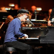 Zach De Pue, left, is departing Time for Three for focus on his classical music career.
