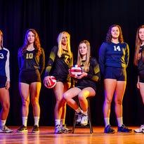 Photos: GameTimePA YAIAA girls' volleyball all-stars