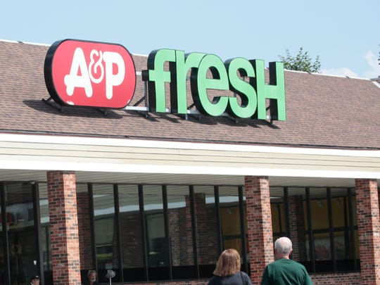 The A&P supermarket in Rye Brook.