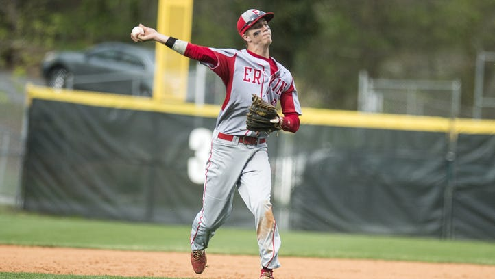 Erwin rising senior Cameron Howell has committed to play college baseball for Mars Hill.