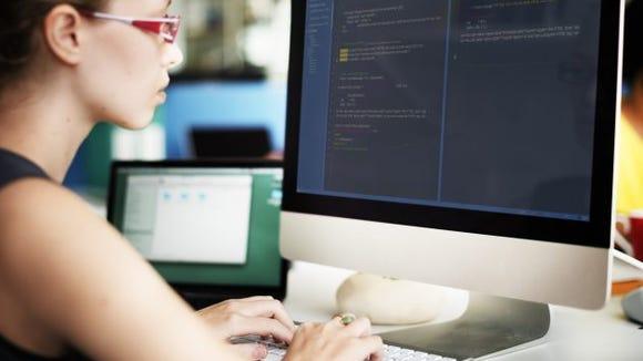 woman programmer women computer science