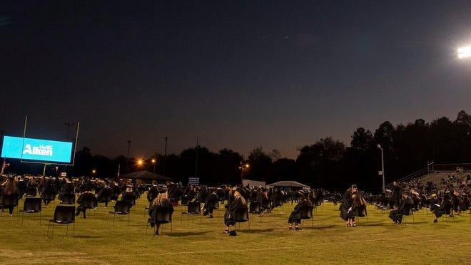 The University of South Carolina Aiken celebrated fall commencement on Nov. 20 at the Aiken High School football stadium.