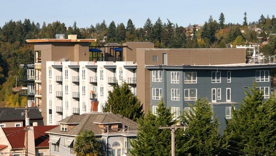 Spyglass Hill on Washington Avenue in downtown Bremerton