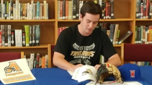 West Henderson senior Will Lindsey has signed to play