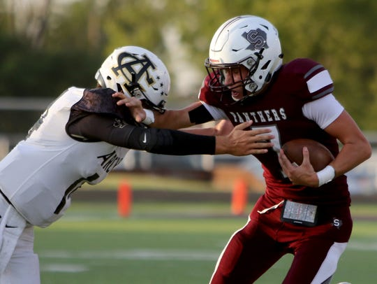Seymour's Cade Holden is one of several area 2A players to watch this fall as he returns as the Panthers' quarterbacks.