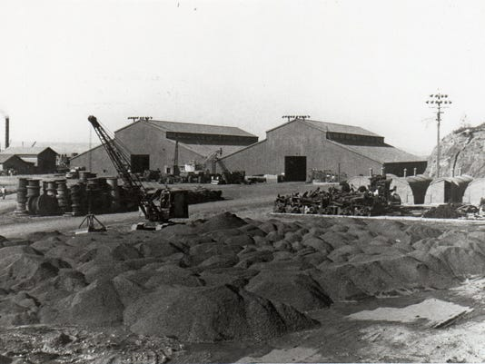 Naval Magazine Indian Island's net depot