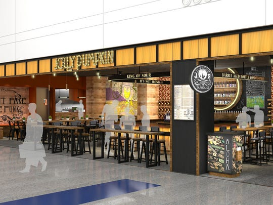 Jolly Pumpkin Taphouse showcasing Detroit's own Jolly Pumpkin Brewing, will give travelers access to award-winning local beers like the Calabaza Blanca and will soon arrive in Detroit Metro Airport.