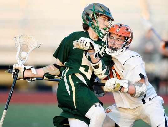 York Catholic vs Central York boys lacrosse