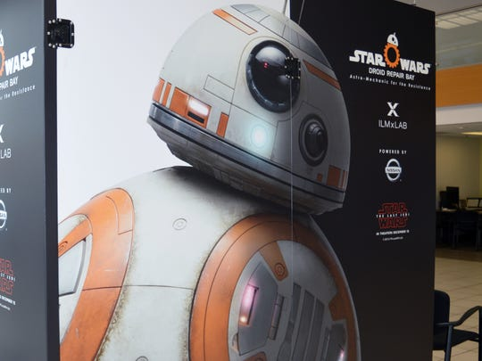Nissan of Visalia is showcasing the Star Wars: Droid Repair Bay Virtual Reality experience this weekend.