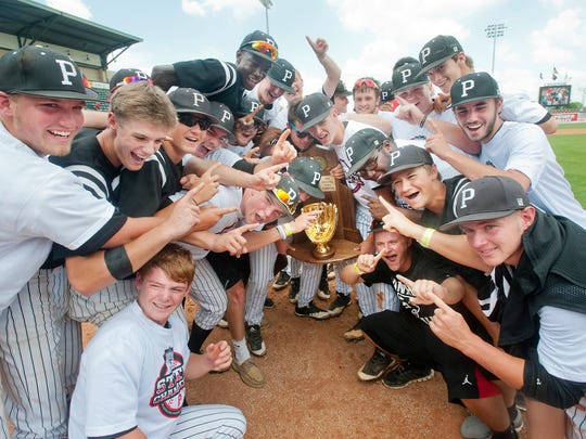 Pleasure Ridge Park celebrates its KHSAA state baseball