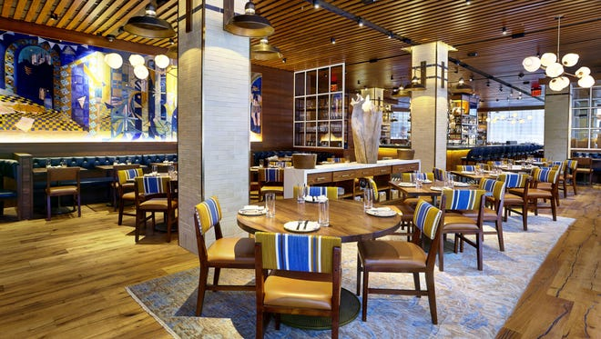 Greek restaurant Ousia, meaning essence and flavor, opened in Manhattan's VIA 57 WEST building on January 24.