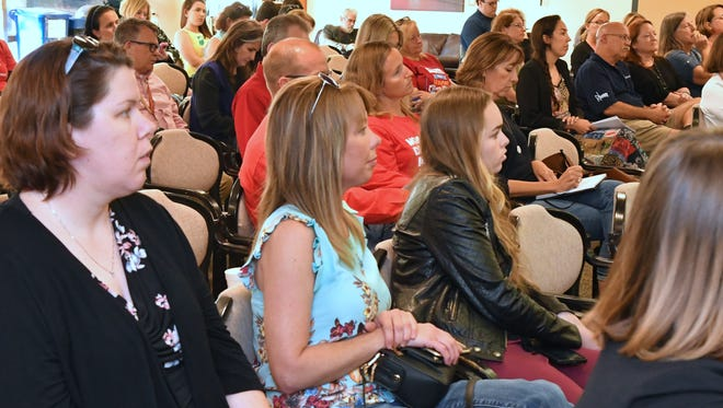 In March, FLORIDA TODAY hosted a town hall meeting concerning school safety.