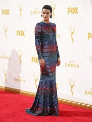 Jaimie Alexander arrives at the 67th Primetime Emmy