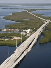 You are highly unlikely to encounter so little traffic on the 18-Mile Stretch of U.S. 1 that connects South Florida with the Keys. This stretch is in Key Largo.