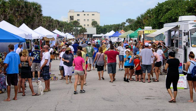 The fourth annual Ocean Reef Beach Festival at Pelican Park in Satellite Beach draws people beachside for a fun and ecologically educational event.