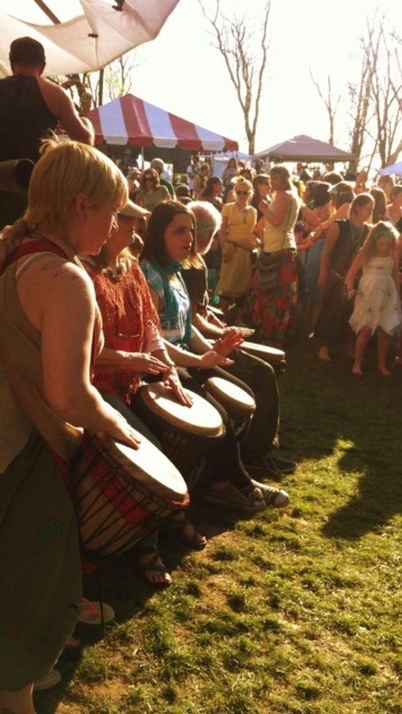 fairie festival drum line