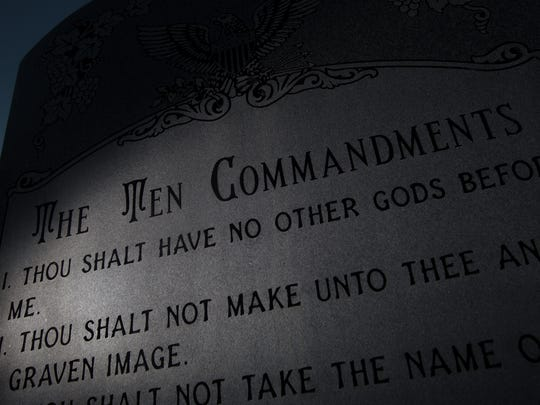 The 10th Circuit Court of Appeals ruled in November 2016 that Bloomfield must remove the Ten Commandments monument from the lawn in front of its City Hall.