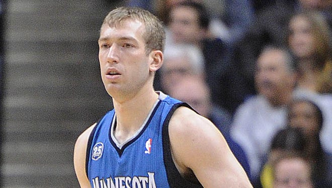 Former Purdue player Robbie Hummel played for the Timberwolves tonight. The Pacers hosted the Minnesota Timberwolves in NBA action Monday November 25, 2013 at Bankers Life Fieldhouse.