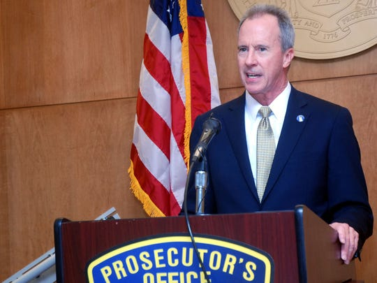 Union County First Assistant Prosecutor Thomas K. Isenhour