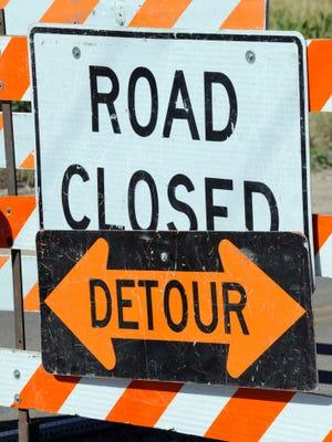 A portion of Baker Street will be closed Thursday, Nov. 12.