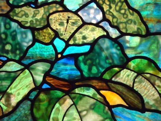 LeMoyne Bob Jones glass art