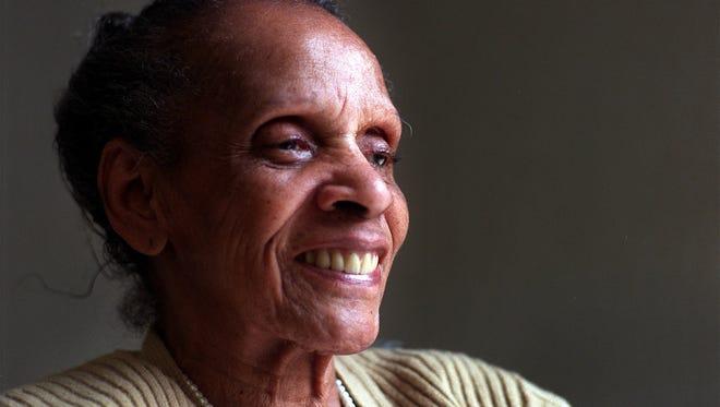 Des Moines civil rights leader Edna Griffin died in 2000.