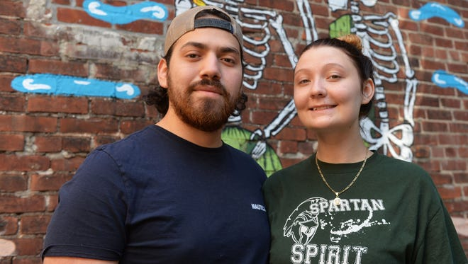 Brando Manuel Jaimes-Diaz and his girlfriend Anisa Diaczun are the owners of Paco's Tacos, which opened in Taste Test's restaurant space in June.