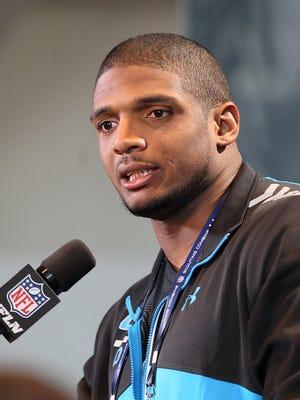 Rams seventh-round draft pick Michael Sam