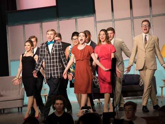 """Somerville High School performed """"How to Succeed in"""