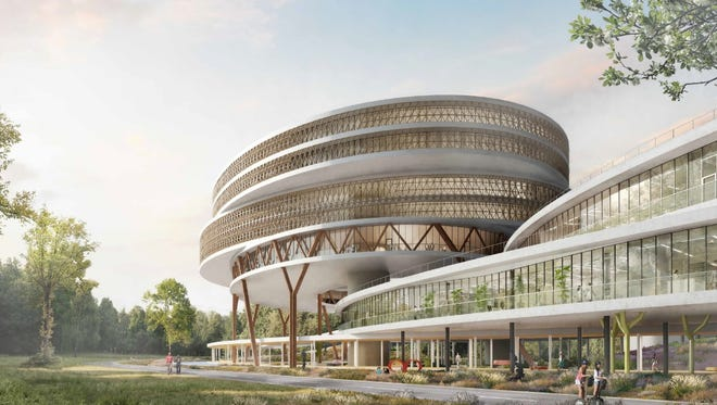 A rendering of  SciTech Scity