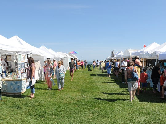 Lewes Historical Society's Annual Sea Glass Festival was held on June 25 & 26 at the Cape May-Lewes Ferry Terminal.