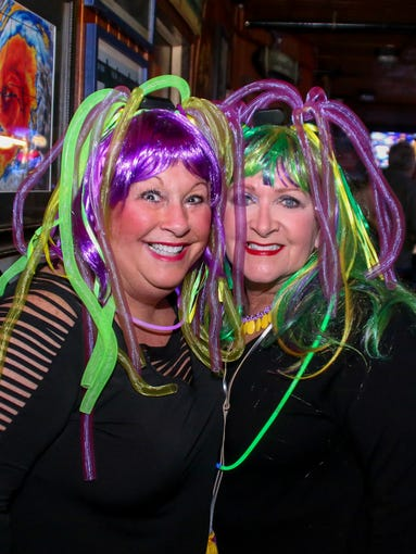 The Krewe of Shakers hosts its annual Mardi Gras Wigwacker