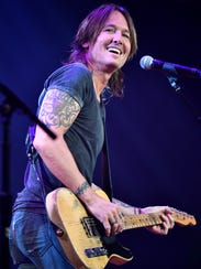 Keith Urban received five nominations for April's Academy of Country Music Awards.