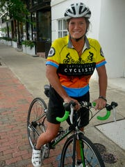 Diane Lea will ride her bike 50 miles a day for 50 days from Pensacola to San Diego, California, to raise awareness for 50 different causes.
