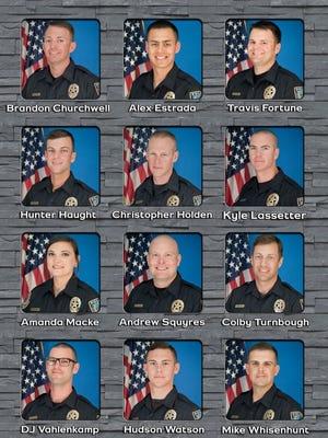 Abilene Police Academy 55 cadets