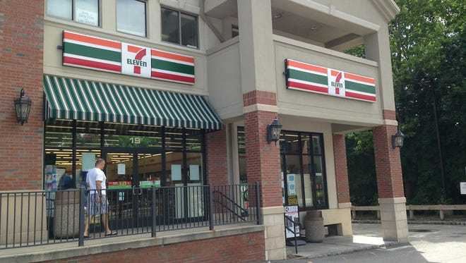 The 7-Eleven in Mahwah, N.J., where Salvatore Cambria and Erick Onyango of Suffern, N.Y., say they bought a $1 million winning Powerball ticket they threw out, mistakenly thinking it was a losing ticket. Now, they're suing the New Jersey Lottery Commission, blaming it for failing to post the winning number promptly and demanding that it pay the $1 million.
