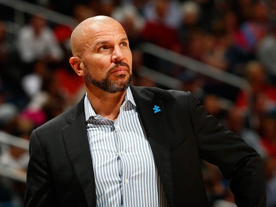 Jason Kidd is in his first season as Bucks coach.
