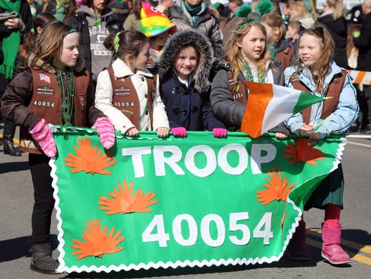Pearl River St. Patrick's Day Parade on March 19, 2017.