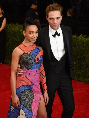 Robert Pattinson and FKA Twigs at the Met Gala in May.