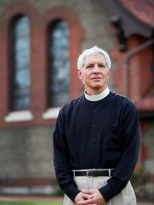 """""""Jesus never endorsed any political party or candidate,"""" said Rev. Todd Donatelli of the Cathedral of All Souls, an Episcopal congregation in Biltmore Village."""