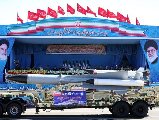 AP MIDEAST IRAN MILITARY PARADE I IRN
