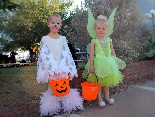 Halloween on Granado Street