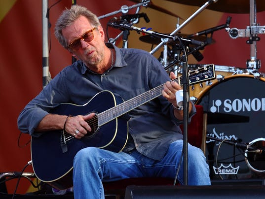 Eric Clapton, 2014 New Orleans Jazz Festival