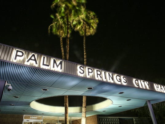 Generic Palm Springs City Hall shot