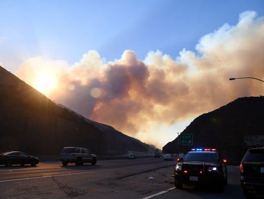 2017-12-6 la wildfires ucla