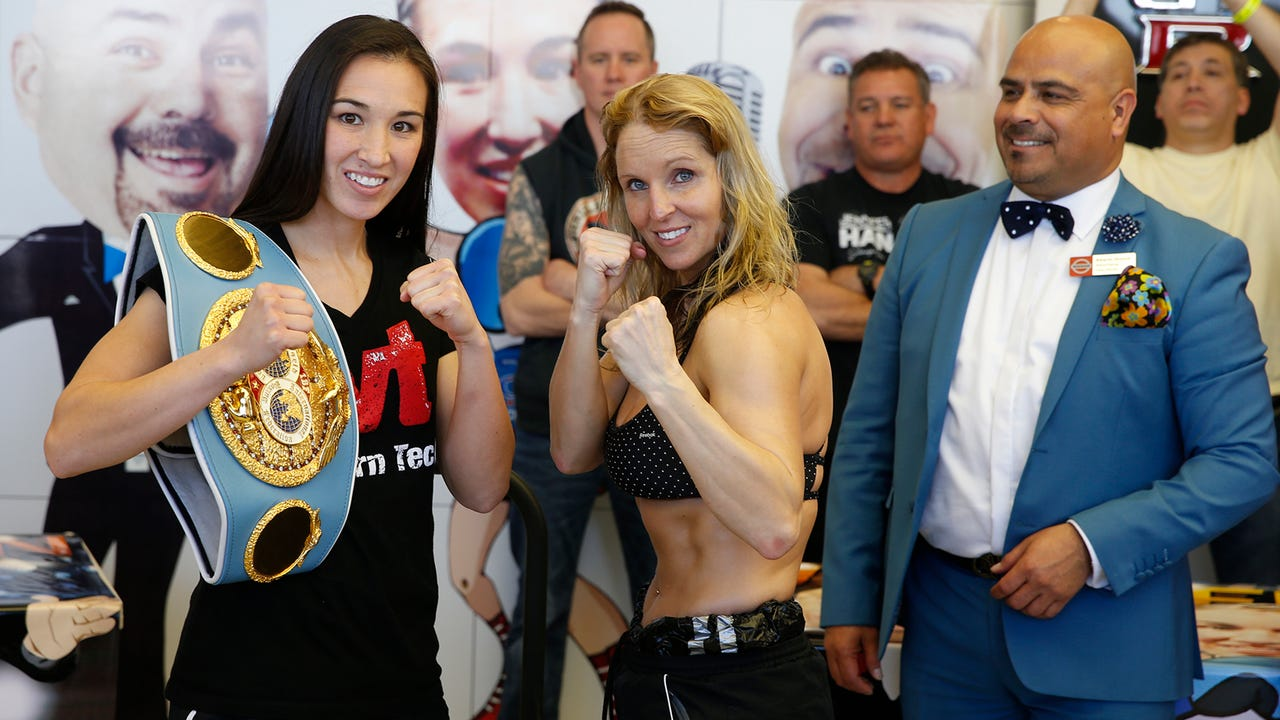 Promoters and boxers held a final press conference on Wednesday, Feb. 15 for Friday night's Top Rank boxing card.