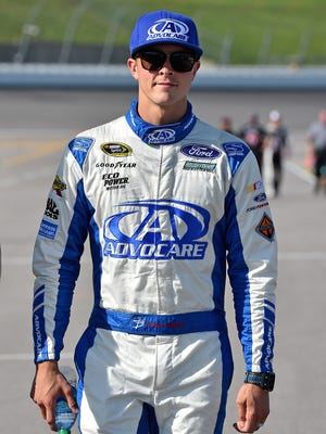 Trevor Bayne cooks his family meals and is a big fan of tacos.