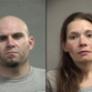 Police: 2 caught with large amounts of drugs