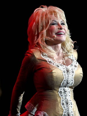 Dolly Parton, in Nashville, Tenn., on July 31, 2015, comes to the U.S. Cellular Center in Cedar Rapids on July 19.